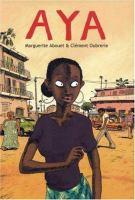 Book jacket: Aya by Marguerite Abouet