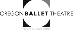 Logo for and link to Oregon Ballet Theatre