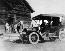 Early 1900s bookmobile