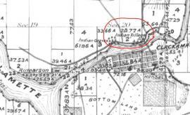 Map of Clackamas Village