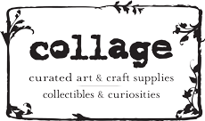 Logo for and link to collage