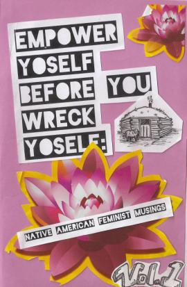 Empower Yoself zine cover