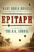 Epitaph bookjacket
