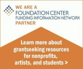 We are a Foundation Center Funding Network information partner