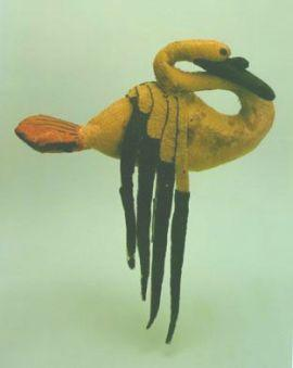 Felt Swan from the Hermitage Museum