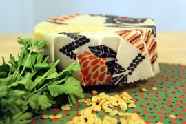 diy beeswax wrap