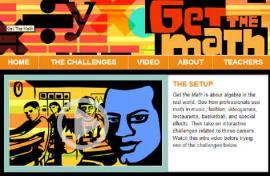 Get the Math website screen shot.
