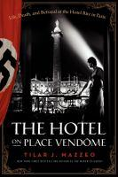 The Hotel on Place Vendome bookjacket