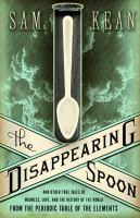 Book cover: The Disappearing Spoon
