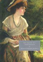 cover image of the making of a marchioness