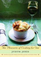 cover image of the pleasures of cooking for one