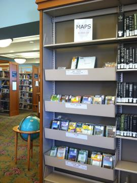 Maps to check out, in the Literature & History Room, Central Library, 3rd floor.