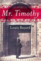 Mr. Timothy book jacket