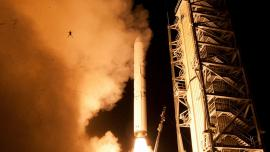 LADEE and Frog Launch