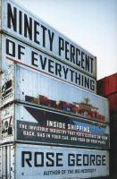 Ninety Percent of Everything book jacket
