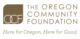 Logo for and link to the Oregon Community Foundation