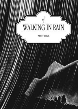 cover of walking in rain