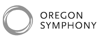 Logo for and link to Oregon Symphony