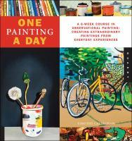 Book Jacket: One Painting a Day by Timothy Callaghan