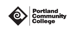 Logo for and link to Portland Community College