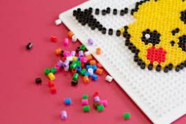 perler beads and Pikachu