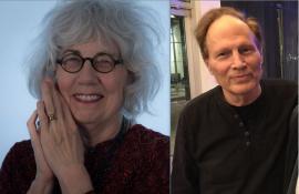 Paulann Petersen and Anson Wright