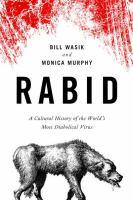 Book cover, Rabid by Bill Wasik and Monica Murphy