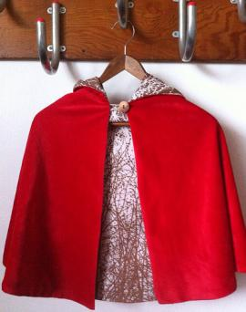 Photo of little red riding hood cloak