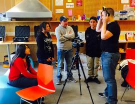 Movie making at Rockwood Makerspace