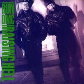 Run DMC Raising Hell album cover