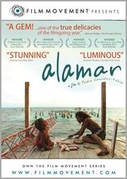A la mar Spanish language film from Hoopla library service from Multomah County Library