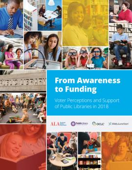 Cover and link to report, From Awareness to Funding 2018