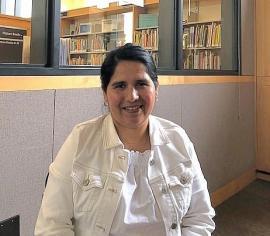 Volunteer Guillermina Garcia