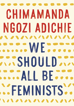 Cover of We Should All Be Feminists and link to catalog entry in My MCL
