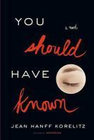 You Should Have Known bookjacket