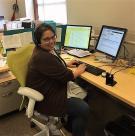 Nadia A., lead contact center representative